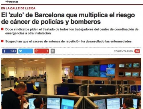 El » zulo » de Barcelona que multiplica el riesgo de cáncer de policias y bomberos